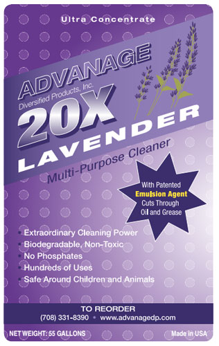 Lavender- Your source for eco cleaning products for the home.