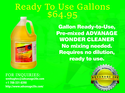 Advanage Ready To Use Multi Purpose Cleaner