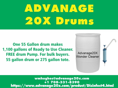 Ready-to-Use ADVANAGE 20X Drums