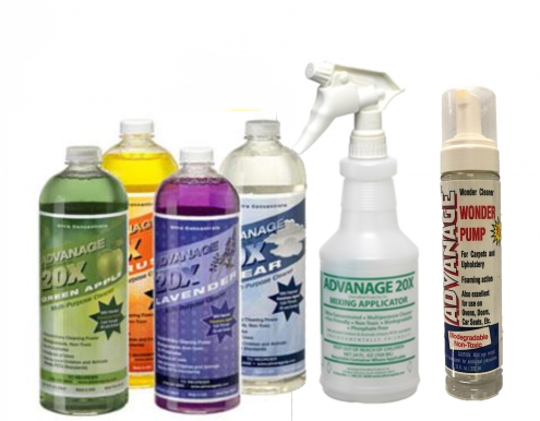 Your choice of fragrance. Citrus, Lavender, Green Apple, or orderless Clear plus Free Mixing Applicator